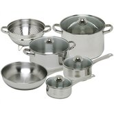 Vesta Stainless Steel 10-Piece Cookware Set