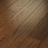 "Pebble Hill Hickory 5"" Engineered Hickory in Burnt Barnboard"