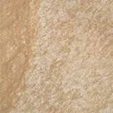 "Ridgestone 18"" x 18"" Floor Tile in Beige"