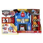 Transformer Rescue Bots Playskool Heroes Fire Station Prime Play Set