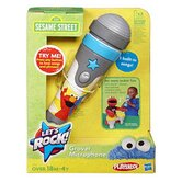 Sesame Street Playskool Let's Rock Grover Microphone
