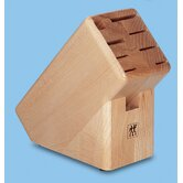 Blocks and Accessories Natural Wood Knife Block