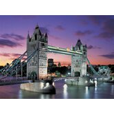 Tower Bridge, London Neon 1000 Piece Jigsaw Puzzle