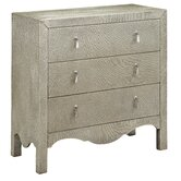 Accent Chest In Textured Champagne Silver