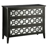 Cosmopolitan Mirror Front Accent Chest