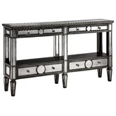 Cosmopolitan Sleek Narrow Mirrored Console Table