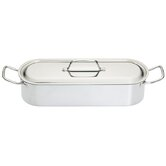 Clearview 45cm Stainless Steel Fish Poacher with Rack
