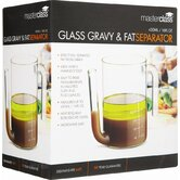 Master Class Glass Gravy / Fat Separator