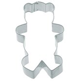 Cookie Cutter with Large Teddy Bear Shaped (Set of 12)