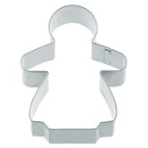 Cookie Cutter with Gwithgerbread Girl Shaped (Set of 12)