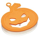 Let's Make Soft Touch Halloween Pumpkin Three Dimensional Cookie Cutter