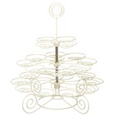 Classic Revolving Wire Cupcake Tree for Twenty-two Cupcakes