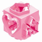 Miniamo Pastels Cookie Cutter Cube in Pink