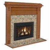 Deluxe Royalton Flush Fireplace Mantel