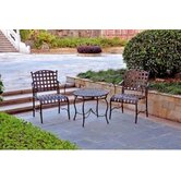 Santa Fe 3 Piece Patio Bistro Set