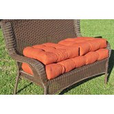 Patio Settee Cushion Set