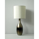 Juggler Table Lamp in Mocha Horizon with Pebble Shade