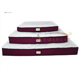 Canvas Pet Mat in Burgundy and Ivory