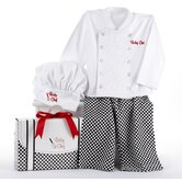 """Big Dreamzzz"" Baby Chef 3 Piece Layette"