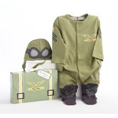 ''Big Dreamzzz'' Baby Pilot 2-Piece Sleep Set