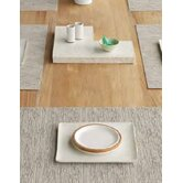 Matte Weave Rectangle Placemat