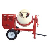 9 Cubic Foot Honda GX - 240 Poly Drum Concrete Mixer