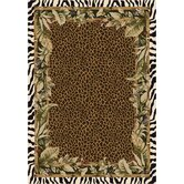 Signature Jungle Safari Emerald Rug