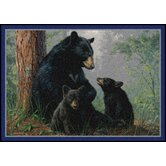Hautman Bear Family Mat