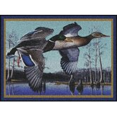 Eddie LeRoy Flying Mallards Mat