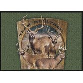 Realtree Team Realtree Bucks VIII Novelty Rug