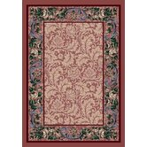 Innovation Rose Damask Rose Quartz Rug