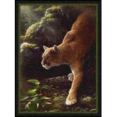Hautman Focused Cougar Novelty Rug