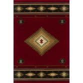 Hudson Red/Green Rug