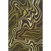 Utopia Brown/Green Rug