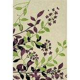 Utopia Green/Purple/Ivory Rug