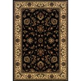 Ariana Ivory/Black Persian Rug