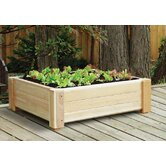 "Cedar Square 12.5"" Raised Container Garden"
