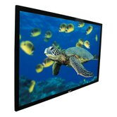 CineWhite ezFrame Series Fixed Frame Screen - 135&quot; Diagonal