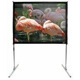 QuickStand Portable Fixed Frame CineWhite  Projection Screen - 150&quot; 4:3 AR