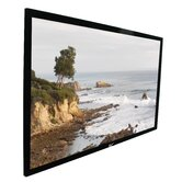 ezFrame Fixed Frame AT 92&quot; Projection Screen in Black Velvet