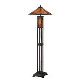 Odessa  Floor Lamp in Dark Bronze