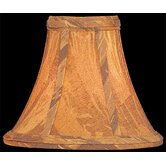 Candelabra Lamp Shade in Brown Velvet