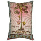 Botanica 13&quot; x 20&quot; Linen Pillow with Carica Papaya Print