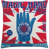 "Rice 20"" x 20"" Pillow with Magic Hand Print"