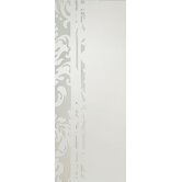 Damask Shadow Etched Mirror