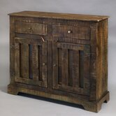 Rustic Chic 2 Drawer Hall Chest