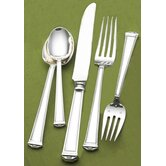 Pantheon 5 Piece Dinner Flatware Set with Place Spoon