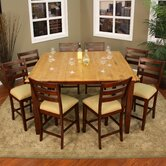 Andria 9 Piece Counter Height Dining Set