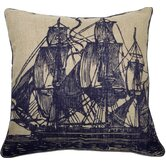 Sail Pillow in Ink