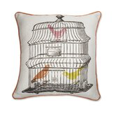 The Birdcage Pillow in Multi